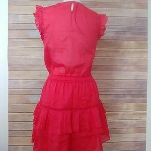 Scotch & Soda / Madison Scotch Dresses - Scotch + Soda Sleeveless Dress w Pleated Ruffle